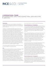 International Sanctions against Iran, Libya and Syria - Skuld