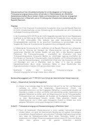 Diskussionsentwurf für ein Bundesgesetz zur Sicherung der ...
