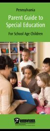 Parent Guide to Special Education - Direction Service