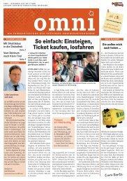 So einfach: Einsteigen, Ticket kaufen, losfahren - Bus Thüringen