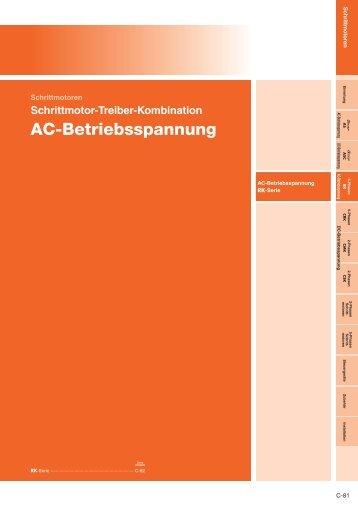 AC-Betriebsspannung - opis.cz