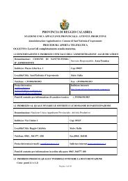 bando+ disciplinare - Regione Calabria
