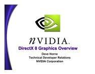 DirectX 8 Graphics Overview - NVIDIA Developer Zone