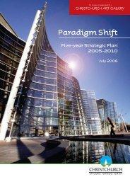 Paradigm Shift - Christchurch Art Gallery