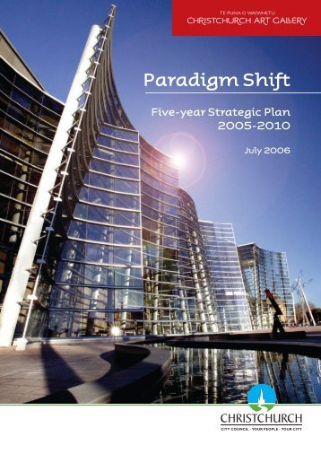 Paradigm Shift - Christchurch Art Gallery