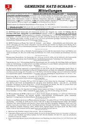Pfarrbrief Nr. 43/2010 (203 KB) - .PDF