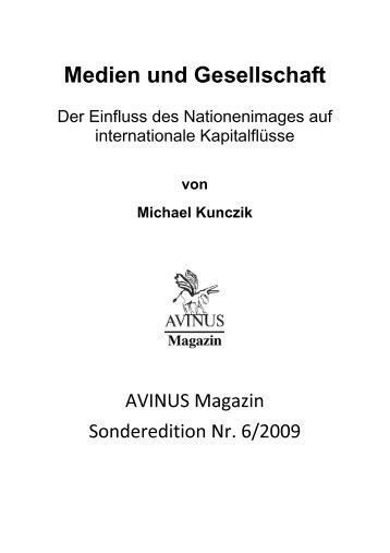 Medien und Gesellschaft - Avinus Magazin - AVINUS Verlag