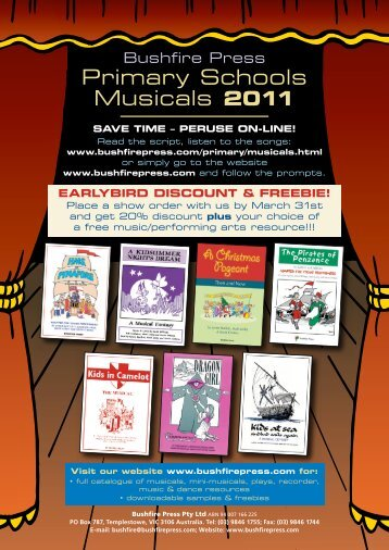 Primary Schools Musicals 2011 - Fremantle
