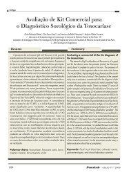 Avaliação de Kit Comercial para o Diagnóstico ... - NewsLab