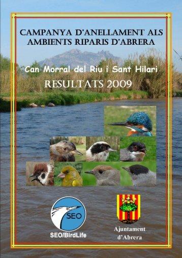 Informe anellament a Abrera 2009 0 - Ajuntament