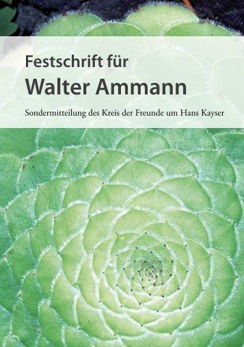 Walter Ammann