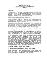 """Vabariigi Valitsuse määruse """"Sopimetsa looduskaitseala kaitse ..."""