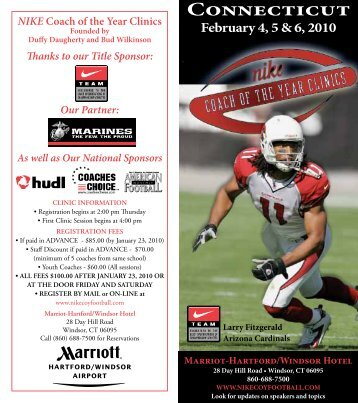 Connecticut - Nike Coach of the Year Clinic
