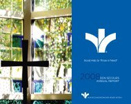 Good Help to Those in Need® BON SECOURS aNNUal REpORT