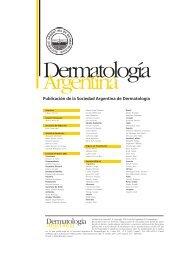 Dermatolog.a 1 - Sociedad Argentina de Dermatología