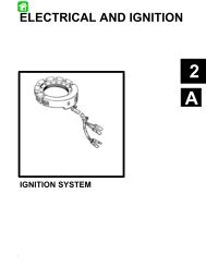 Part A - Ignition System