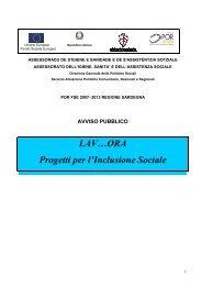 Avviso pubblico [file.pdf] - Regione Autonoma della Sardegna