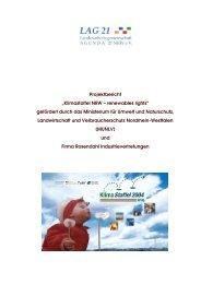 Projektbericht Klimastaffel 2004 - Landesarbeitsgemeinschaft ...