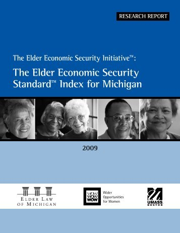 The Elder Economic Security Standard™ Index for Michigan - Wider ...