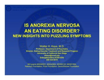Is Anorexia Nervosa an Eating Disorder? - Maudsley Parents