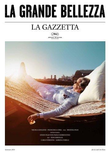 LA GAZZETTA - Filmladen
