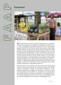 Framework for African Agricultural Productivity (FAAP) - FARA - Page 5
