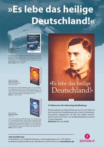 Es lebe das heilige Deutschland!«