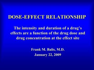 dose effect relationship pdf viewer