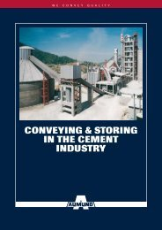 Conveying & Storing in the Cement induStry - easyFairs