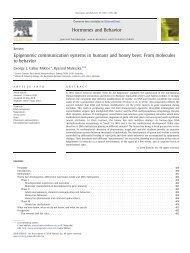 Epigenomic communication systems in humans ... - Secure Genetics