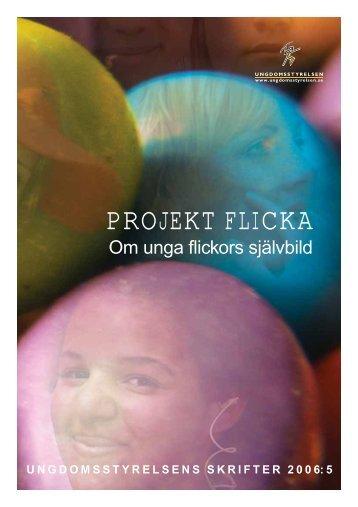 Projekt Flicka – Om unga flickors självbild - Ungdomsstyrelsen