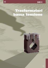 Trasformatori di corrente - Misura - Ime