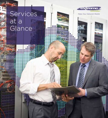 Services at a Glance - Extreme Networks