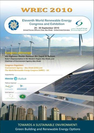 WREC 2010 - World Renewable Energy Congress / Network