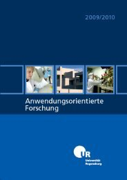 Untitled - Netzwerk Wirtschafts- und Wissensraum Ostbayern