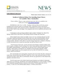 Southern California Edison Now Installing Smart Meters in ...