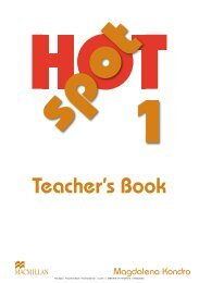 Hot Spot Teachers Book ISBN 978-3-19-412979-5