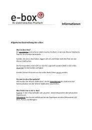 Informationen - Wiener Städtische