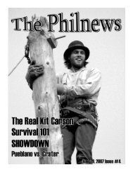 PhilNews #4 - Philmont Scout Ranch