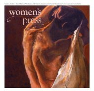 Volume 25, Number 2 • March & April 2010 • A ... - Women's Press