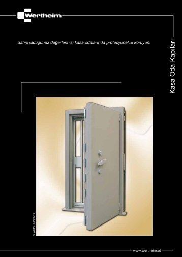 Kasa Oda Kapıları - Wertheim