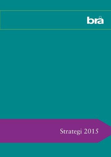Strategi 2015 - Brottsförebyggande rådet