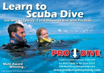 Learn to Scuba Dive - Online Scuba Diving Booking System