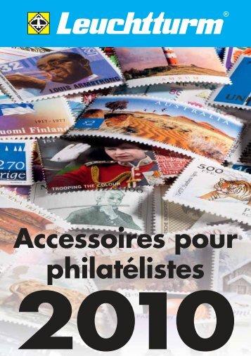 Accessoires pour philatélistes