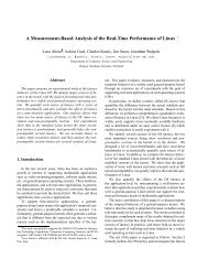 A Measurement-Based Analysis of the Real-Time ... - CiteSeerX