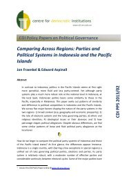 Comparing Across Regions: Parties and Political Systems in ...