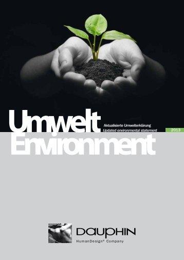 Umweltbroschüre EMAS - Dauphin