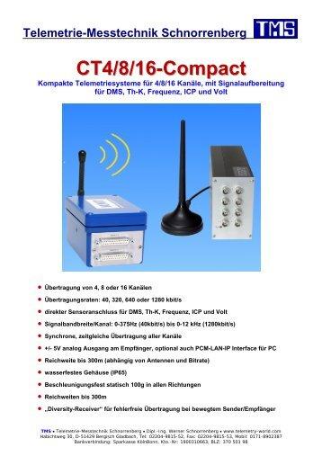 CT4/8/16, Info (pdf) - TMS · Telemetrie-Messtechnik Schnorrenberg
