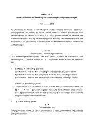 8.6.10 Dritte Verordnung zur Änderung von - Wir gestalten ...
