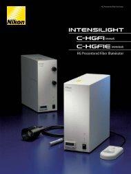 HG Precentered Fiber Illuminator - Nikon Instruments